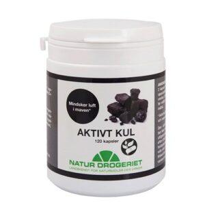 Natur Drogeriet Aktivt kul (120 kap)