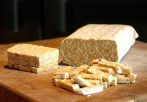 Tempeh er mindre kendt probiotisk fødevare
